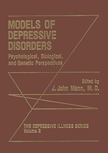 Models of Depressive Disorders