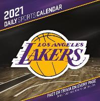 Los Angeles Lakers 2021 Box Calendar