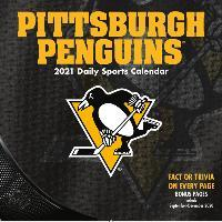 Pittsburgh Penguins 2021 Box Calendar