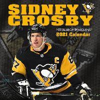 Pittsburgh Penguins Sidney Crosby 2021 12x12 Player Wall Calendar