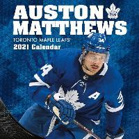 Toronto Maple Leafs Auston Matthews 2021 12x12 Player Wall Calendar