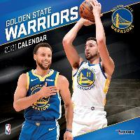 Golden State Warriors 2021 12x12 Team Wall Calendar