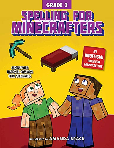 Spelling for Minecrafters: Grade 2