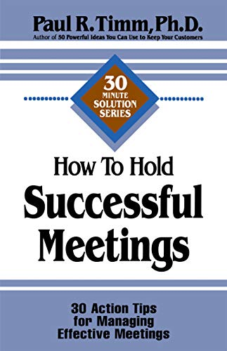 How to Hold Successful Meetings