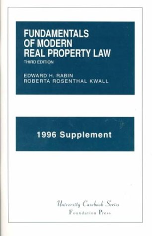 Fundamentals of Modern Real Property Law to