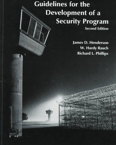Guidelines for the Development of a Security Program