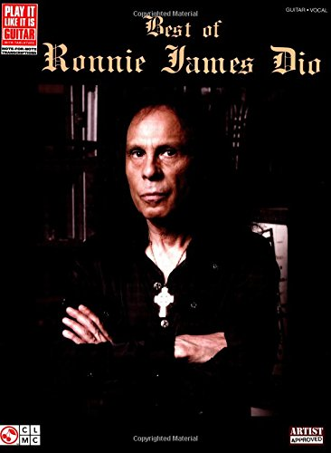 DIO BEST OF RONNIE JAMES DIO PLAY IT LIKE IT IS TAB GUITAR BOOK