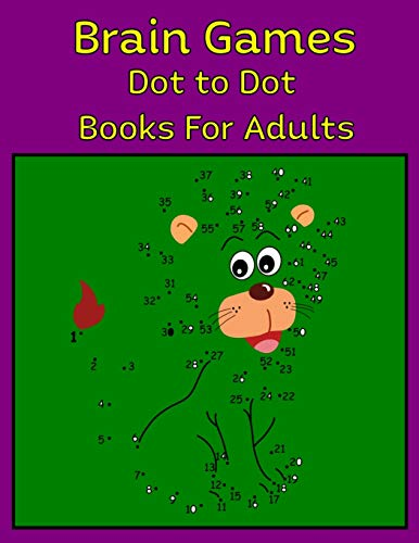 Brain Games Dot to Dot Books For Adults