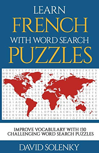 Learn French with Word Search Puzzles