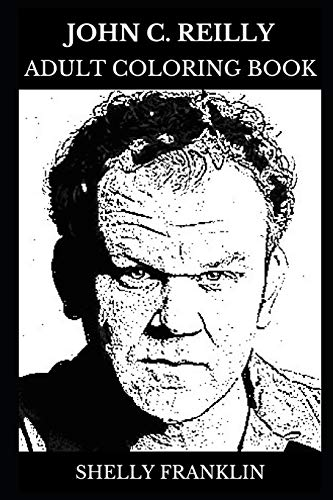John C. Reilly Adult Coloring Book