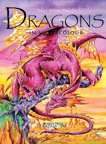 Dragons in Watercolour
