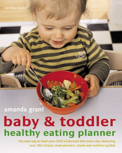 Baby & Toddler Healthy Eating Planner
