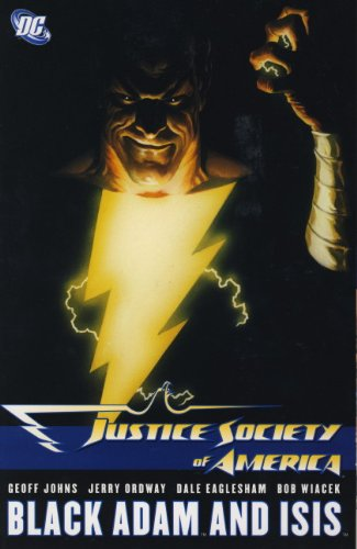 Justice Society of America: Black Adam and Isis