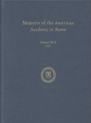 Memoirs of the American Academy in Rome v. 42