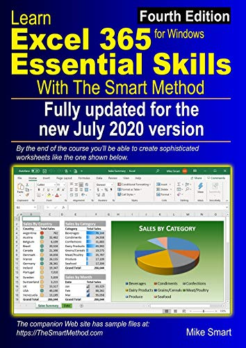 Learn Excel 365 Essential Skills with The Smart Method