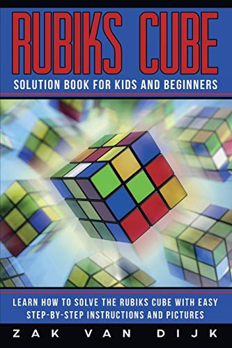 Rubiks Cube Solution Book for Kids and Beginners