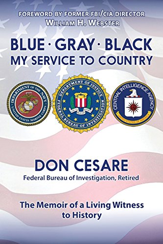 Blue Gray Black My Service to Country