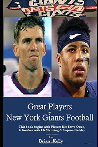 Great Players in New York Giants Football