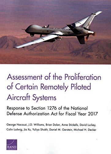 Assessment of the Proliferation of Certain Remotely Piloted Aircraft Systems