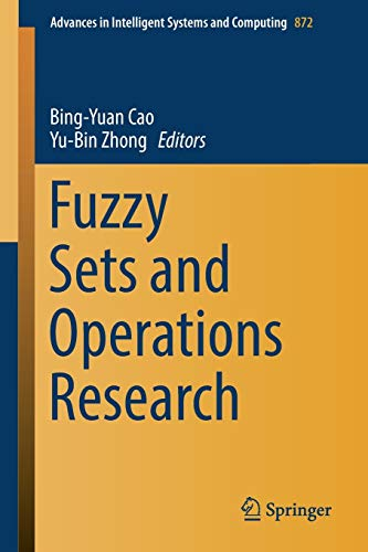 Fuzzy Sets and Operations Research