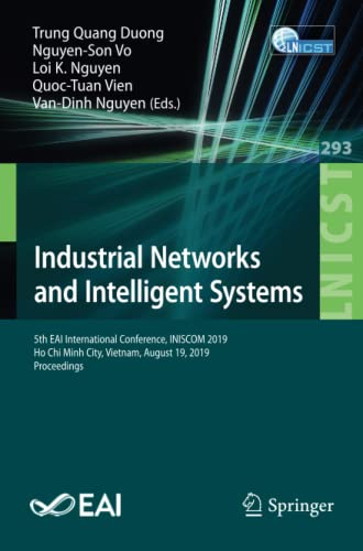 Industrial Networks and Intelligent Systems
