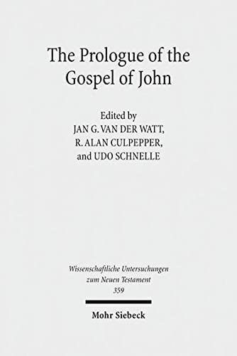 The Prologue of the Gospel of John