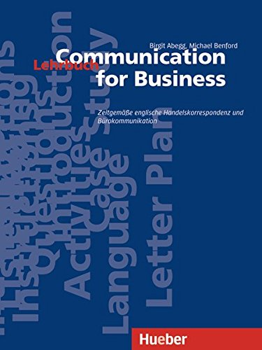 Communication for Business. Lehrbuch mit Incoterms 2010
