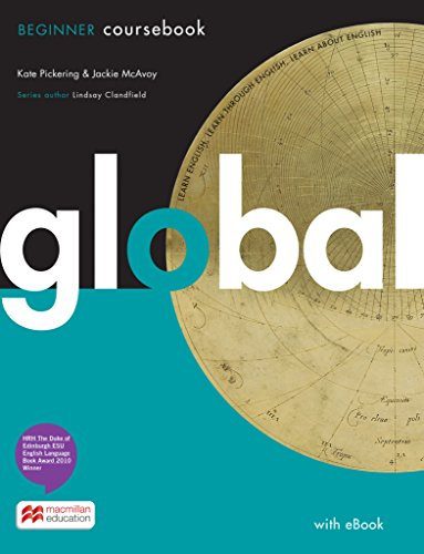 Global. Beginner / Student's Book with ebook and (Print-) Workbook