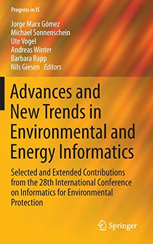 Advances and New Trends in Environmental and Energy Informatics