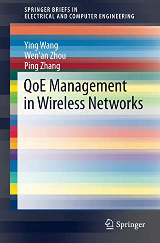 QoE Management in Wireless Networks