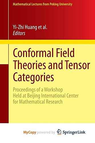 Conformal Field Theories and Tensor Categories