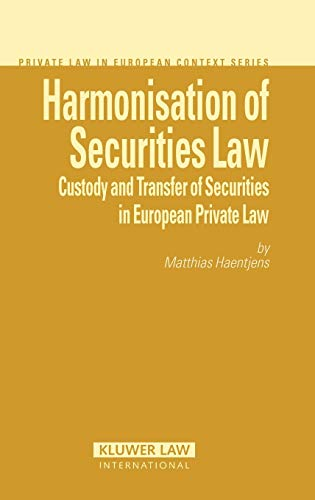 Harmonisation of Securities Law