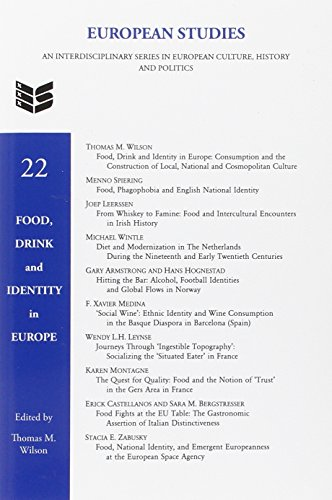 Food, Drink and Identity in Europe
