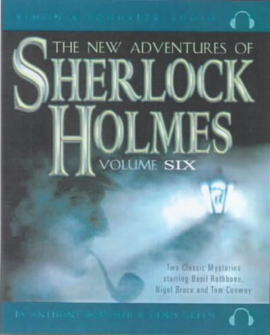 The New Adventures of Sherlock Holmes: The Case of the Limping Ghost/The Girl with the Gazelle v. 6