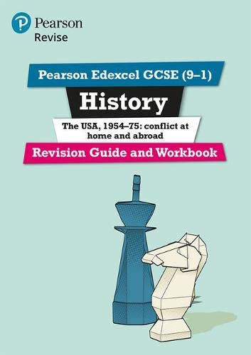 Revise Edexcel GCSE (9-1) History The USA Revision Guide and Workbook : with free online edition