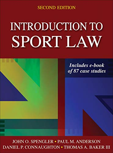 Introduction to Sport Law With Case Studies in Sport Law