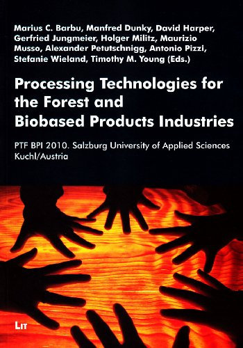 Processing Technologies for the Forest and Biobased Product Industries : Ptf Bpi 2010. Salzburg University of Applied Sciences Kuchl/Austria