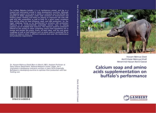 Calcium soap and amino acids supplementation on buffalo's performance